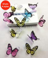 Best PVC butterflies 3D wall sticker for home decoration