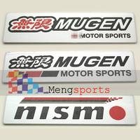 20pcs nismo 3D aluminum Badges Emblem Metal-D016 100x26mm