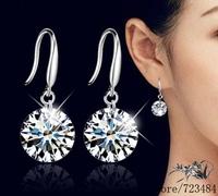 925 sterling silver earrings , 925 silver fashion jewelry , 8MM 10MM /dbpalswa frzaojga #153