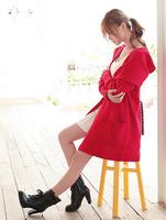 2014 Spring New Style Korean Long Women's loose cardigan Sweater Jackets M0013Free Shipping