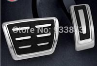 2015 Skoda Octavia A7Car  Foot Fuel Brake Clutch MT/AT pedals Plate Cover  auto accessories