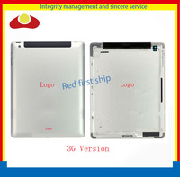 5pcs/lot Original For New iPad 4 4rd Gen Wifi or 3G Version Back housing Back Cover Rear Case 64GB 32GB 16GB With Logo