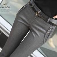 New 2014 women's female trousers bell-bottom Speaker OL trousers formal pants slim suit pants KZ4205