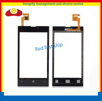 200Pcs/lot Test 1 by 1 For Nokia Lumia 520 N520 Glass Touch Screen Digitizer Front Panel Free Shipping By DHL/EMS