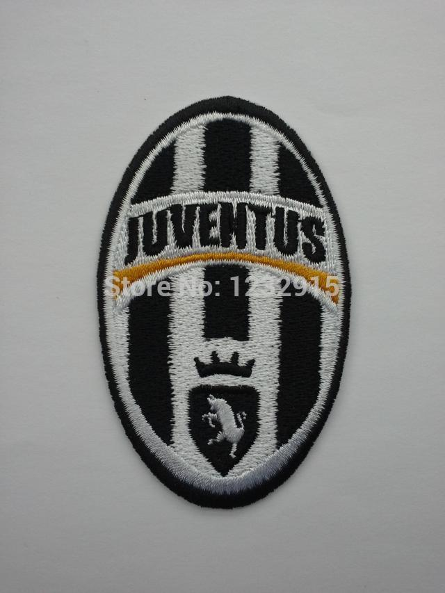 Free shipping!JUVENTUS FOOTBALL CLUB SPA Juventus of Italy Iron On Patch Badge mark Embroidered fabric patches for clothing(China (Mainland))