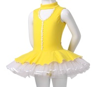 rain sports flagship store red rain dance clothing children's dance performances yarn  skirt on sale practice
