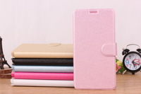 Free Shipping PU Leather Case For Oppo U707T  Flip Stand Back Cover  Case Silk Grain OEM Order Welcome
