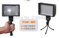 camera digital light Super Power HD-160 LED Video Light for Camera DV Camcorder+free mini tripod gift
