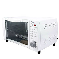 Midea/ beauty MT10NE-AW Mini household electric oven baking oven 10L authentic special