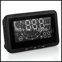 Car OBD 2 II HUD Head Up Display Overspeed Warning Universal Safe Driving