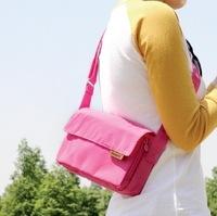 The new 2014 waterproof messenger bag leisure outdoor light nylon cloth one shoulder bag handbag women travel cross bag
