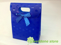 Free shipping16.5*12.5*6cm high quality PP gift packaging bag,thickening PP gift bag