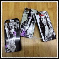 100pcs DHL! Sexy Girl Woman Cross Luxury Quality Bikini Cover for iPhone4 4s 5 5S Aluminum Hard Back Case