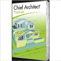 Professional construction, home design software Chief Architect Premier X5, fully functional English version