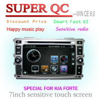 Car dvd for Kia Forte car gps for forte support rear view camera and headrest monitor