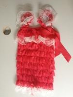 Vintage lace petti romper
