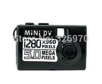 5MP 720P HD Smallest Mini DV Portable Digital Camera Video Recorder Camcorder Webcam DVR Mini DVR free shpping