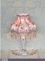 Free shipping pure and fresh and rural wind pendant sweet romance desk lamp