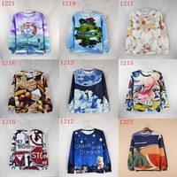 Street wear Fashion Women/Men's 3d sweatshirts cartoon hoody women hoodies sweater tops personality nice print WTH11