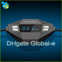 New Car MP3 Music Player Wireless FM Transmitter Radio Transmitter 3.5mm FreeShipping