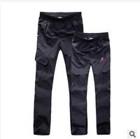 NEW autumn men Outdoor Pants For Hiking & Camping Sporting men Pants Waterproof Trousers women outdoor pants lovers model