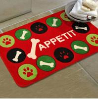 45*75cm mat anti-slip bones cartoon mat bedroom living room door rugs children's room cartoon absorbent thickened rugs