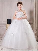 Free shipping maternity wedding dresses organza+lace+beading+crystal