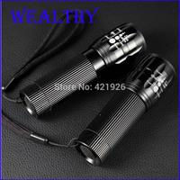 Free shipping! Hot selling Multifuctional LED Flashlight 2000 Lumens Ultrafire Torch Zoomable Lantern Mini Flashlight