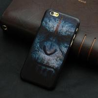 2014 HOT new design wholesale purple grid paint print black hard plastic case cover for iphone 4 4s 5 5S 6 6 plus