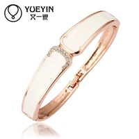 Jewelry Wholesale 10pcs/lot Z038  Nickle Free    Fashion Jewelry 18K Real Gold Plated Bracelets Bangles