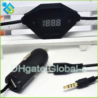 High Quality Wireless Fm Transmitter Car Kit MP3 Player FM Transmitter Modulator For Samsung HTC Lenovo HUAWEI Free Shipping