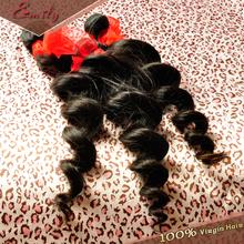 Free shipping Peruvian loose wave virgin hair weaves Remi ms lula peruvian virgin hair products Natural hair extension (China (Mainland))