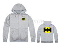 Batman hoodie sweatshirts autumn and winter men sweater hip hop streetwear new sexy cool hoody free shipping