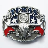 G07-X053 Fashion women men's gift cowboy style belt western style Belt buckle Texas