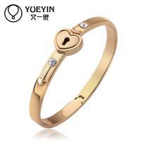 Jewelry Wholesale 10pcs/lot Z050  Nickle Free    Fashion Jewelry 18K Real Gold PlatedBracelets For Women Bangles