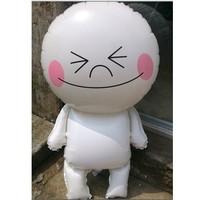 New wedding dress festive birthday balloons cute white man hydrogen children's toys wholesale 49 * 89cm