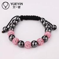 Jewelry Wholesale 10pcs/lot B183 wholesale stylish original shamballa bracelet price