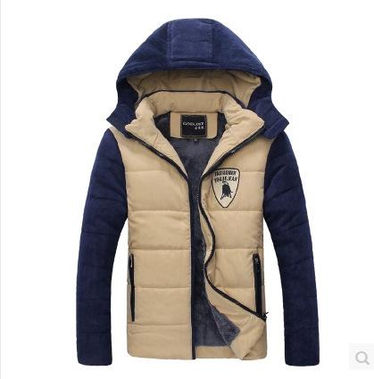 Coats & Jackets Down & Parkas 2014 winter warm men's down jacket winter jacket men canada winter coat free shipping(China (Mainland))