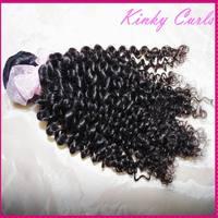 "WestKiss beautiful Afro kinky culy Mongolian virgin hair 1 bundle/1 piece sample order 12""-30""  Love it !!"
