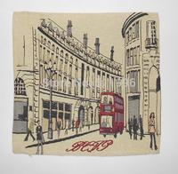 London souvenirs jacquard cushion cover London street  2014 new design free shipping !