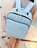 070959  Institute of agitation pu leather backpack travel in Europe and the contracted leisure female model