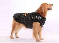 Hot models! Adidog large dog winter coat clothes big dogs skiwear padding vest jacket  free shipping