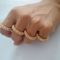 hot sell Corn chain ring fashion ring 36 pcs/ Lot
