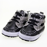 Black  baby Boy first walkers shoes canvas sneaker toddler shoes For age 0-18 month @PO027@