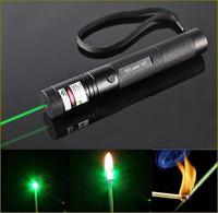 G301 Focus Burn 532nm Green Laser Pointer Pen Lazer Beam Military Green Lasersnot battery