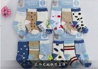 6 pair/lot  Carter  terry socks baby cotton socks