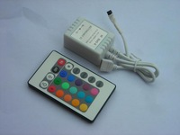12V 7A IR remote controller for 3528/5050 led smd RGB strip,24keys RGB IR remote controller