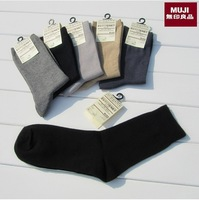 Top Brand Men Boy Sport Sock Muji hot-selling 100% Commercial Cotton Socks Free Shipping 10pair/lot