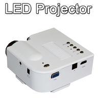 Mini Portable LED Projector Home Theater HD PC HDMI VGA AV USB SD for apple IOS iphone 5 5s 4 4s ipad Android samsung Tablet PC