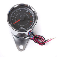 LED Motorcycle Speedometer Tachometer Odometer Rev Counter 0-13000 RPM
